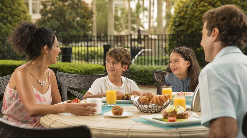 Fuel up with Breakfast Before the Parks